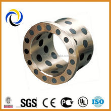 Self-lubricating slide bush cast bronze