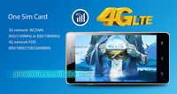 Paypal accepted newest 4G lte phone quad core MTK6582M+M6290 double camera