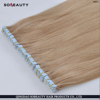 ZZH New product hot sale super glue 100% Brazilian virgin remy American blue glue two tone tape hair extension