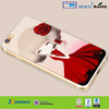 Lovely girl silicone mobile phone case for iPhone 6 and for iPhone 6+