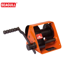 HWG Type 500kg hand winch with two way ratchet worm gear hand winch