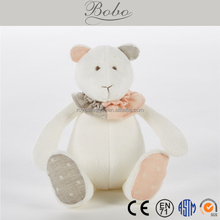 2017 BOBO polar bear stuffed plush toy factory made