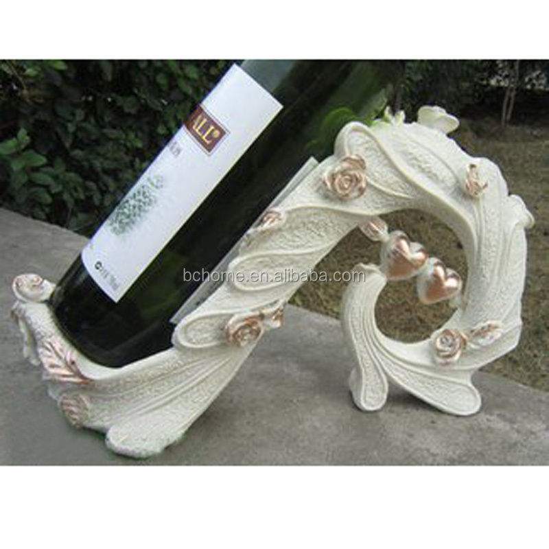 Peacock Feather Wine Rack&Wine Holder For Home Decoration