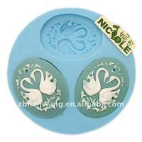 New designed silicone art clay craft moulds F0055
