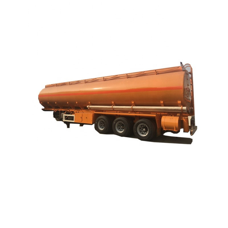 CN HuBei Suizhou 3 <strong>axles</strong> 12 <strong>wheels</strong> carbon steel 20000L to 80000L diesel fuel tank semitrailer