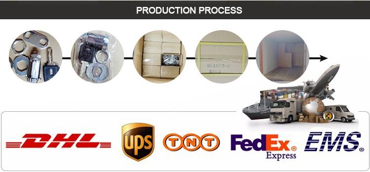 OEM & ODM sécurité durable en alliage de zinc die cast logement porte cylindre cam lock