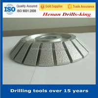 Diamond profile wheel grinding stone for drills/golden drill grinding wheels