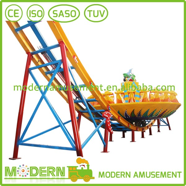Cheap flying UFO rides luna park equipment for sale