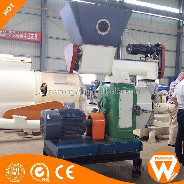 Henan Strongwin ring dies sawdust pellet machine wood pto
