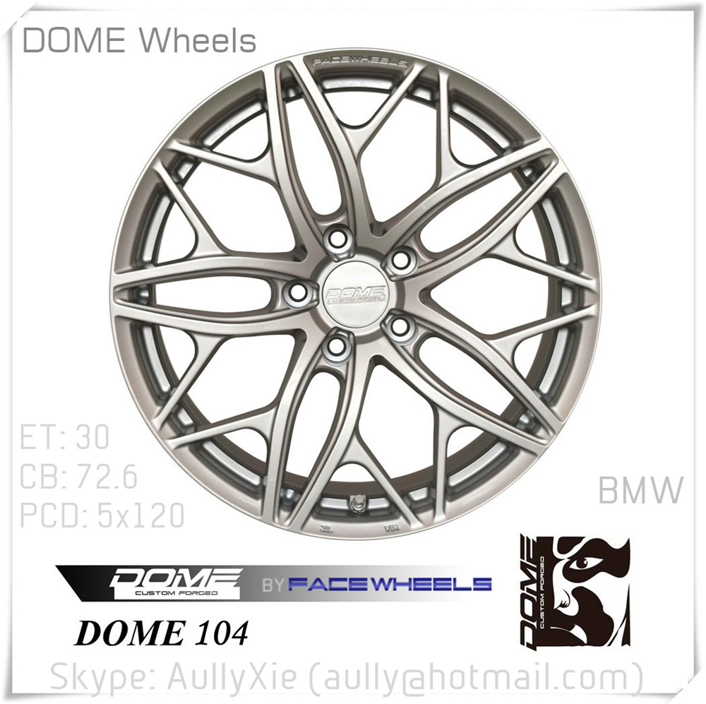 Alloy Wheel Rims Replica original design by FaceWheels Dome Wheels FD-104 forged wheels 18 inch