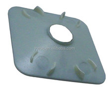 Injection molding plastic hole covers