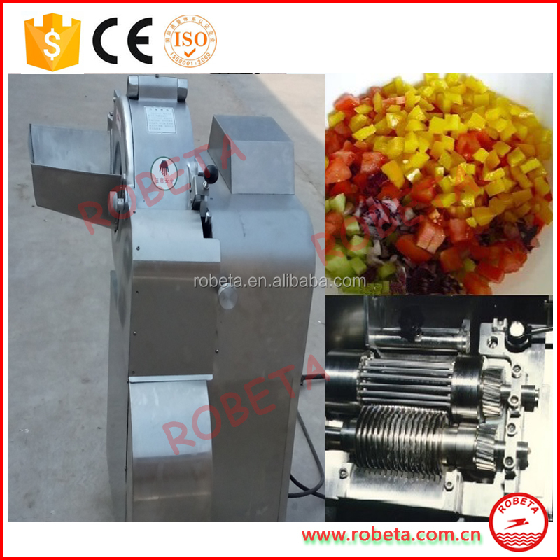 Root Vegetable Slices Leaf Vegetable Stripes Cutter/efficiency cuber for dry fruit/ Whatsapp: 0086-15803993420