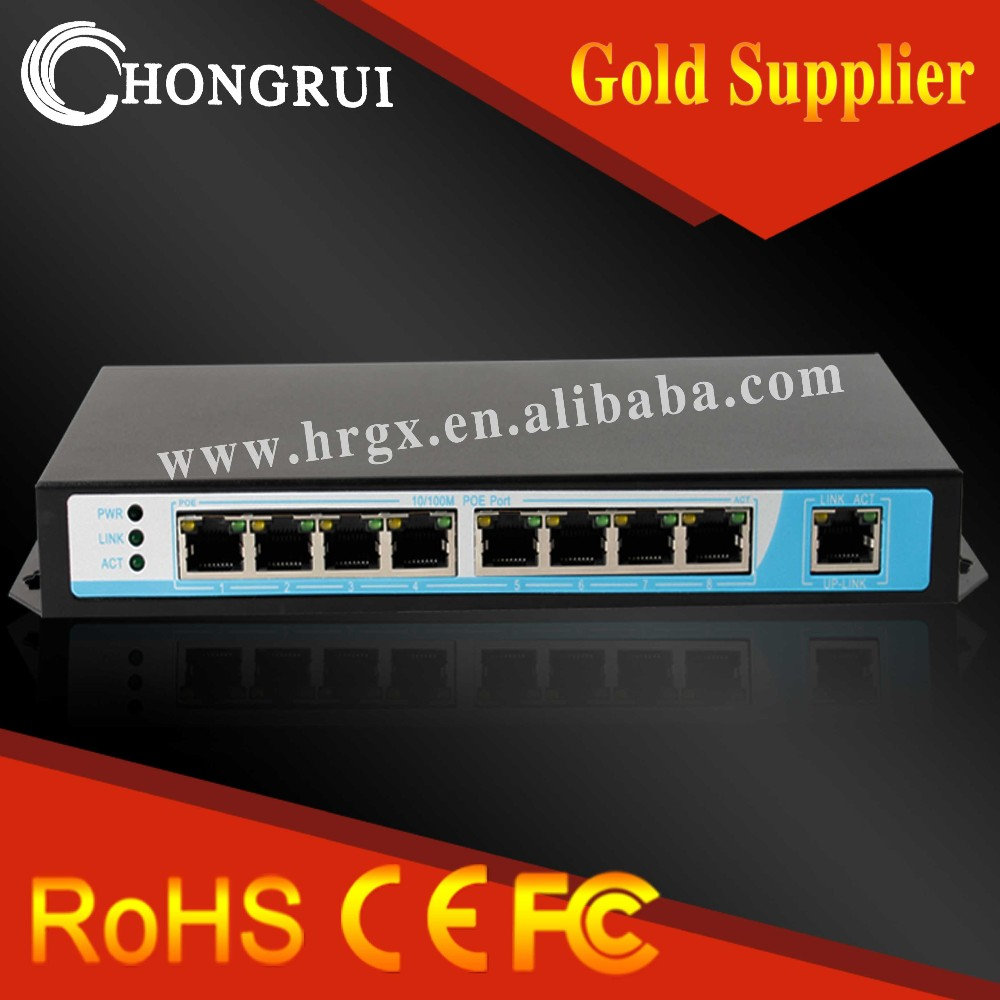 Hong Rui 15.4W 8 Port Switch Network Hub price