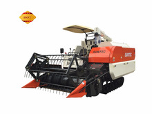 small mini rice wheat cutter reaper binder -mini combine harvester price 4lz-4.5