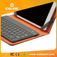 Soft keys waterproof mul-colors bluetooth keyboard case for kindle fire hdx 7