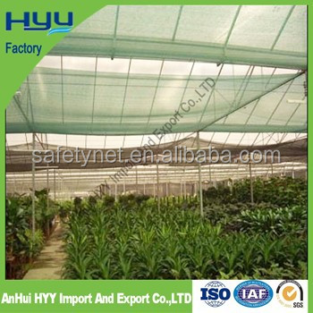 HDPE agricultural sun shade green <strong>netting</strong> for plant