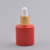 Aluminum cap dropper bottle with child and tamper proof cap uv gel colored glass essential oil bottles 7ml