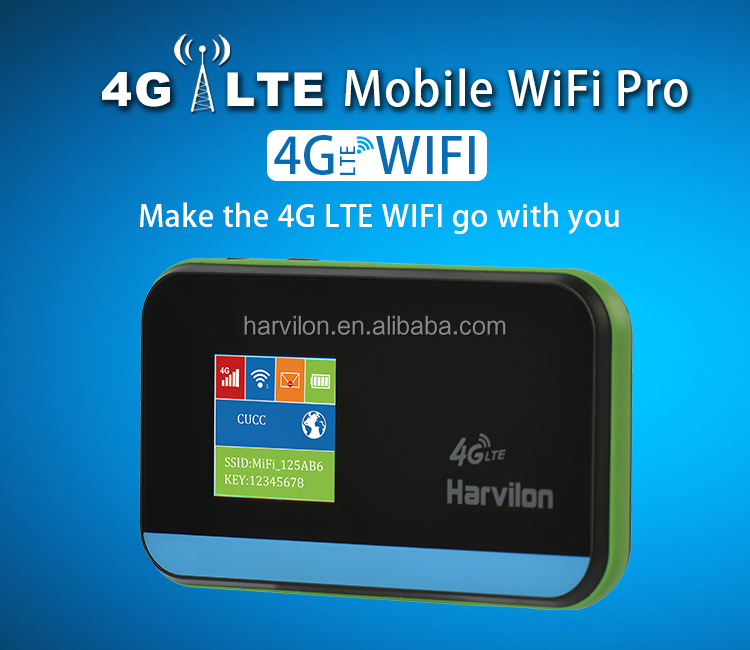 More Surfing Mi-Fi lte 3G/4G Modem Router With SIM Wireless 150Mbps Hotspot
