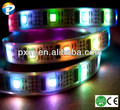 2014 china supplier external pci express slot ws2801 5050smd 96leds/m 24w/m IP67 waterproof flexible dream color led strip