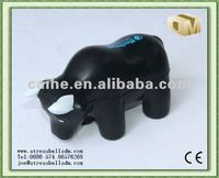 PU anti-stress black bull for toys and promotions