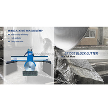 Stone Processing Machine Bridge Block Cutter multi blade block cutter