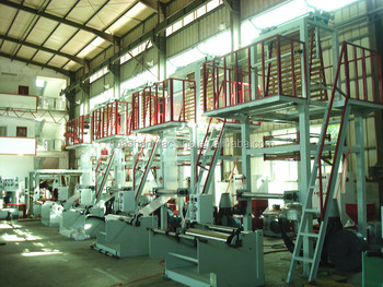 High output LDPE/HDPE/LLDPE Film Blowing Gravure Printing machine plastic bag making machinery