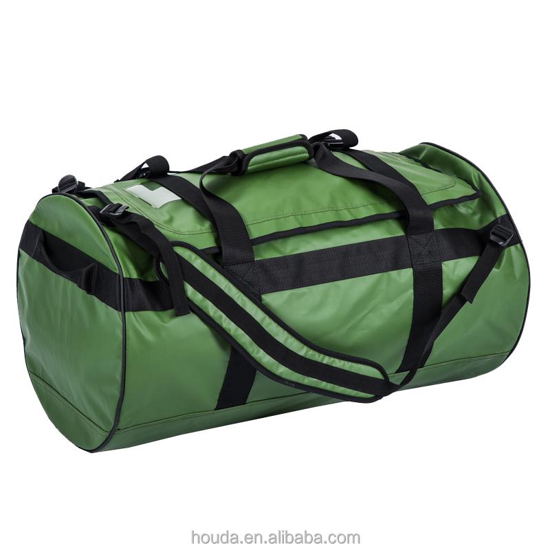 High Quality 1000D PVC Tarpaulin Waterproof Duffel Bag for <strong>Travel</strong> Hiking Camping Use