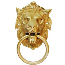 Hardware Fitting Metalware Door Knocker of Lion Face