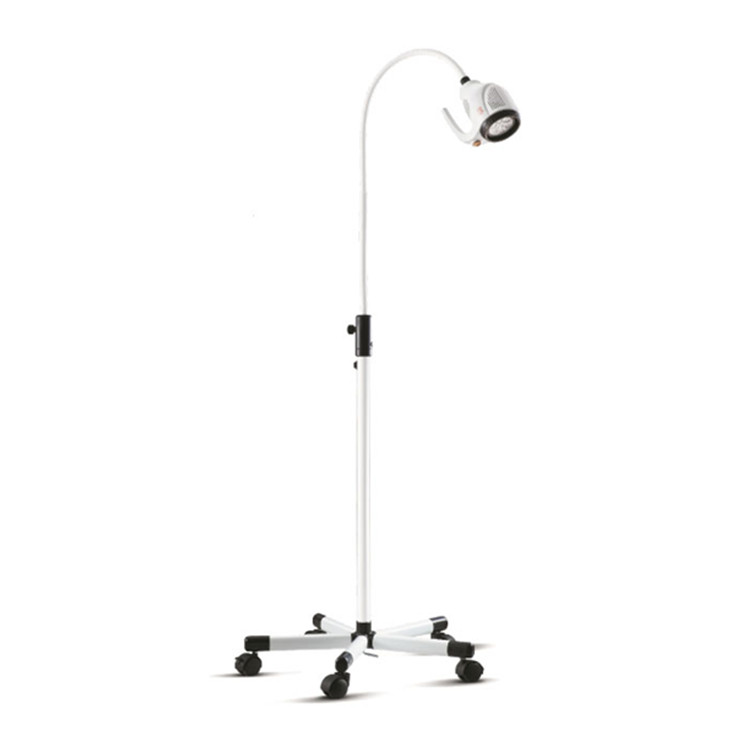 Ceiling LED examination light in hospital surgical exam lamp