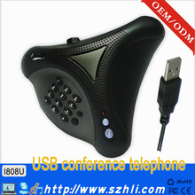 Conference phone with Contacts / Call List reviewed and dialed out / viop phone made in China