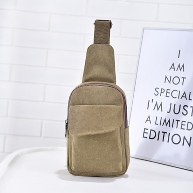 BA-1446 Good Quality Canvas Men's Chest Bag,Backpack tool bag, canvas chest bag for men