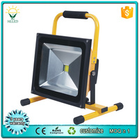 50w 70w 80w rechargeable led flood light Portable LED Battery Work Light with CE RoHS