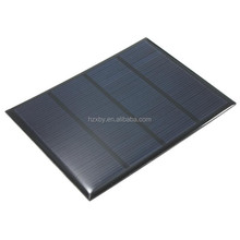 Custom Size 18v 2w Small Size Solar Cell Panel Frosted Pet Cover For Diy Toys
