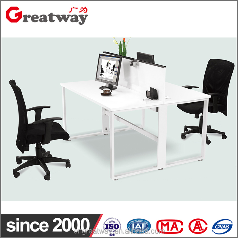 Modern Office Four People 120 Degree Workstation ,High end Modular Office Furniture(QE-22)