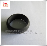 Men's plastic wedding ring, women's silicone wedding ring, silicone rubber finger ring for anybody