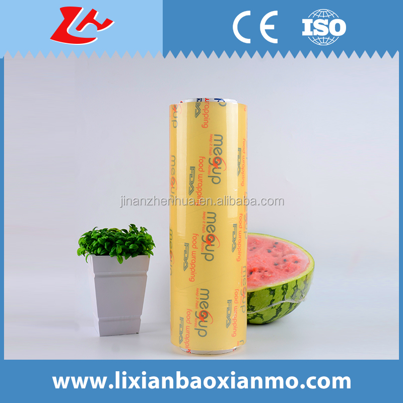 Plastic PVC Meat Packing Cling Film