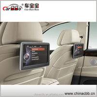 High quality 10.1inch Android 4.2.2 touch scrren car headrest monitor car dvd player with full hd media player