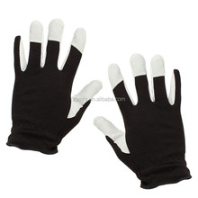 Brand MHR cowhide split leather welding glove reinforced neoprene dive gloves