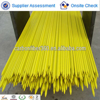 factory wholesale High quality fiberglass tree pole , plant stakes