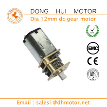 Small 9mm Gearbox length 12v Mini Electric Motor Gearbox DC Gear Motors for Fingerprint Lock#