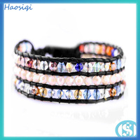 Charm Cheap Fashion glass bead Bracelet alibaba express italy