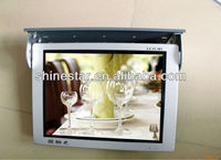 15inch LCD video Advertising screens for Cars bus With Roof Mounting