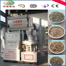 high automation wood pellet processing machine