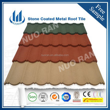 acrylic adhesive tile,stone coated steel roofing tile made in China,better than asphalt shingle tile