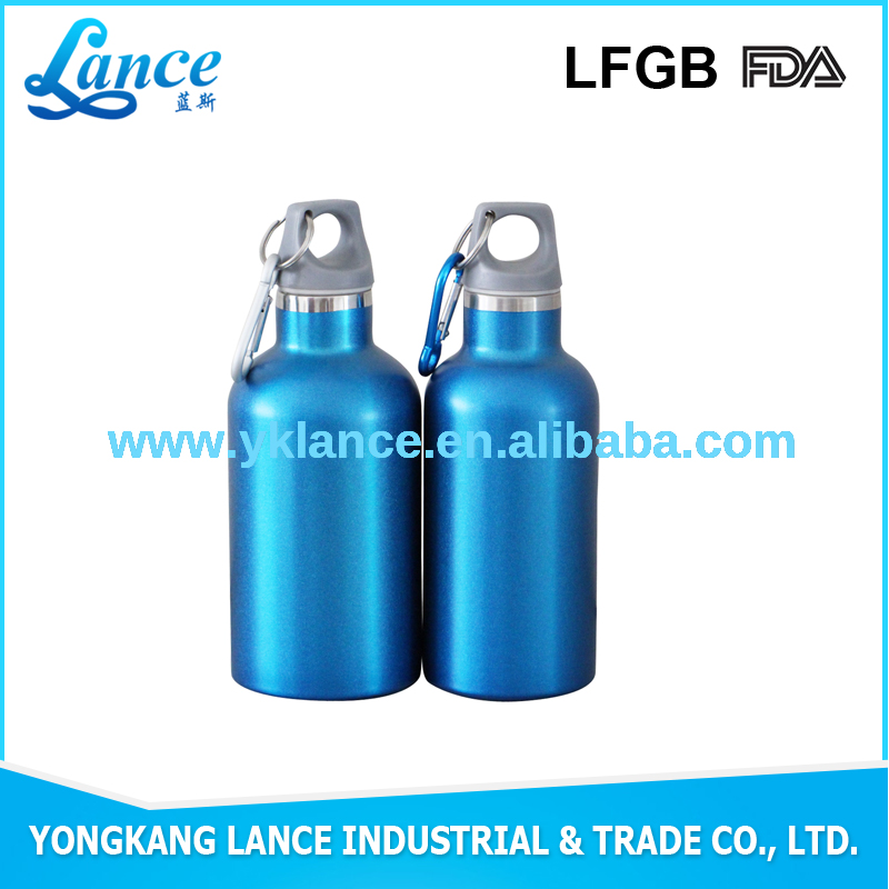 Factory price manufacturing outdoor bottle gifts items carabiner water bottle