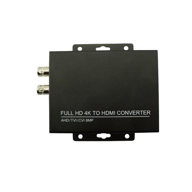 Nouveau Full HD Soutien 8MP/4 K TVI 5MP AHD 4MP L'ICB à Convertisseur Vidéo HDMI Soutien 4MP CVI caméra/1080 P Caméra Vidéo Convertisseur - ANKUX Tech Co., Ltd