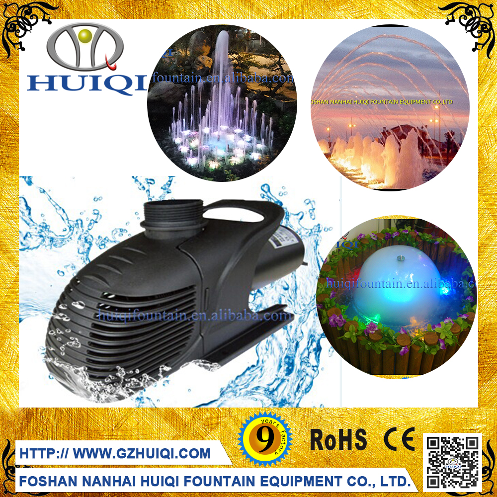 Musical water fountain pump fountain equipment submersible music fountain pump