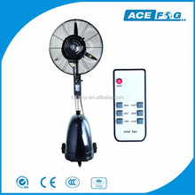 AceFog height adjustable industrial or commercial misting fans