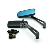 Motocross rear view mirror 8mm Screw Black Rear Side Mirrors Motorcycle