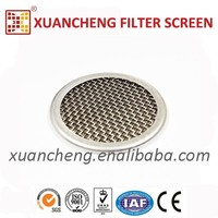 Stainless Steel Extruder Filter Screen Mesh